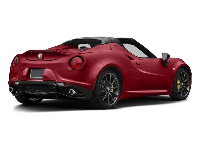 Rosso Competizione Tri-Coat 2016 Alfa Romeo 4C Pictures 4C Convertible 2D Spyder I4 Turbo photos rear view