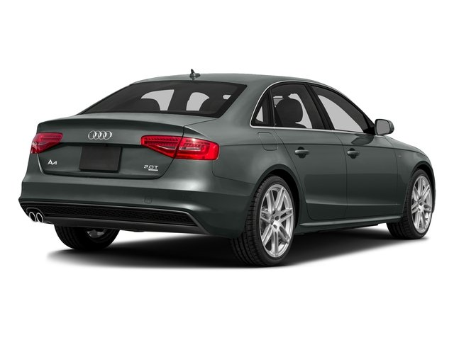 Monsoon Gray Metallic 2016 Audi A4 Pictures A4 Sedan 4D 2.0T Premium 2WD photos rear view