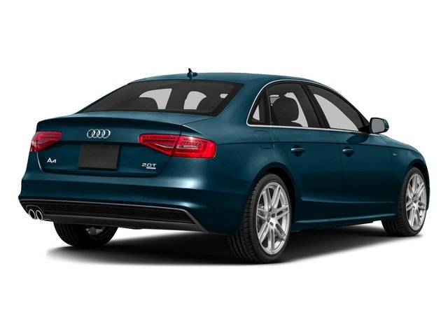 Utopia Blue Metallic 2016 Audi A4 Pictures A4 Sedan 4D 2.0T Premium AWD photos rear view