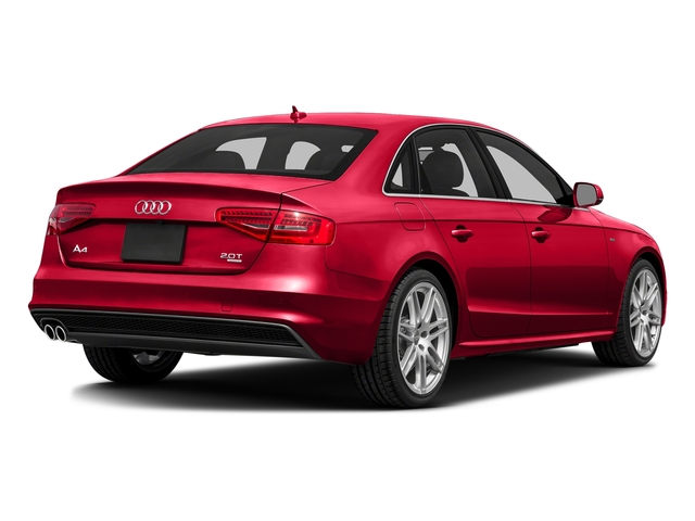 Misano Red Pearl Effect 2016 Audi A4 Pictures A4 Sedan 4D 2.0T Premium AWD photos rear view