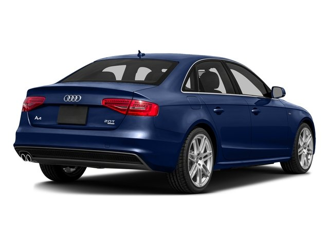 Scuba Blue Metallic 2016 Audi A4 Pictures A4 Sedan 4D 2.0T Premium AWD photos rear view