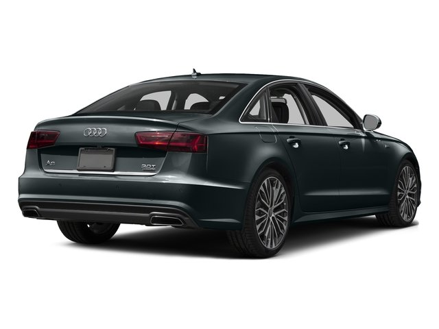 Aviator Blue Metallic 2016 Audi A6 Pictures A6 Sedan 4D 2.0T Premium Plus 2WD photos rear view