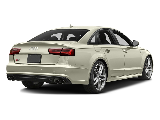 Glacier White Metallic 2016 Audi S6 Pictures S6 Sedan 4D S6 Premium Plus AWD photos rear view