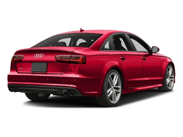 Misano Red Pearl Effect 2016 Audi S6 Pictures S6 Sedan 4D S6 Premium Plus AWD photos rear view