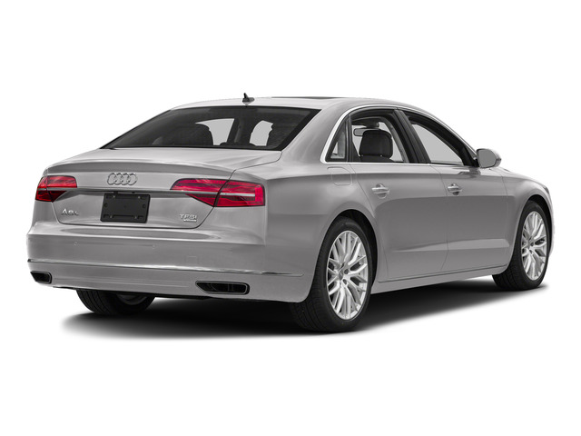 Cuvee Silver Metallic 2016 Audi A8 L Pictures A8 L Sedan 4D 3.0T L AWD V6 Supercharged photos rear view