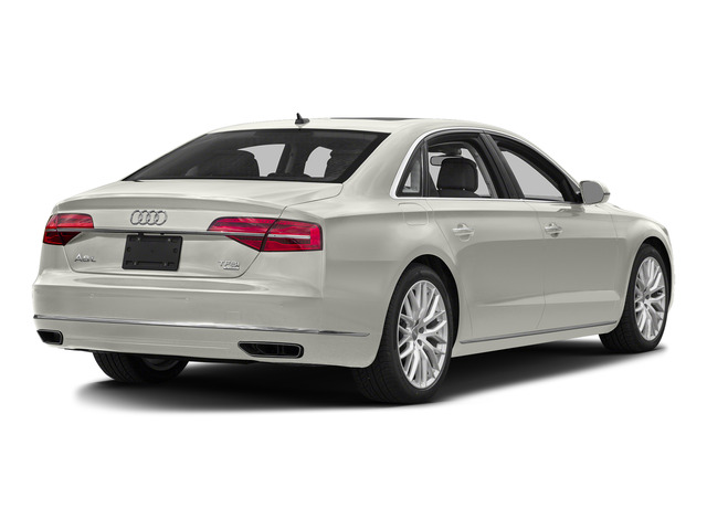 Ibis White 2016 Audi A8 L Pictures A8 L Sedan 4D 3.0T L AWD V6 Supercharged photos rear view