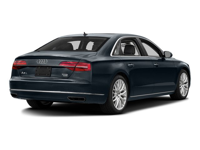 Moonlight Blue Metallic 2016 Audi A8 L Pictures A8 L Sedan 4D 3.0T L AWD V6 Supercharged photos rear view