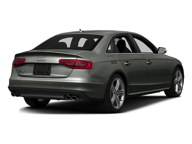 Daytona Gray Pearl Effect 2016 Audi S4 Pictures S4 Sedan 4D S4 Prestige AWD photos rear view