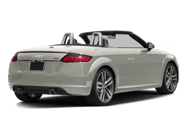 Ibis White/Black Roof 2016 Audi TT Pictures TT Roadster 2D AWD photos rear view
