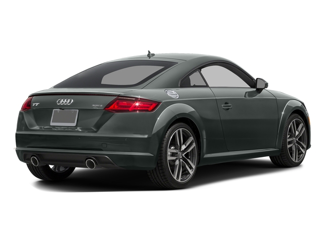 Monsoon Gray Metallic 2016 Audi TT Pictures TT Coupe 2D AWD photos rear view
