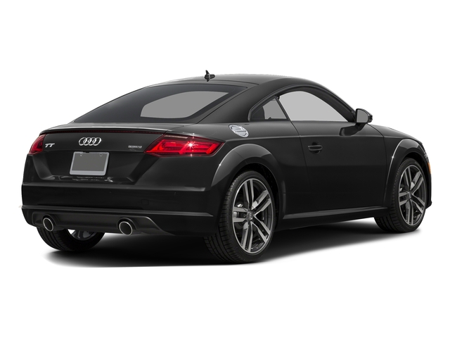 Brilliant Black 2016 Audi TT Pictures TT Coupe 2D AWD photos rear view
