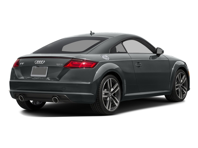 Nano Gray Metallic 2016 Audi TT Pictures TT Coupe 2D AWD photos rear view