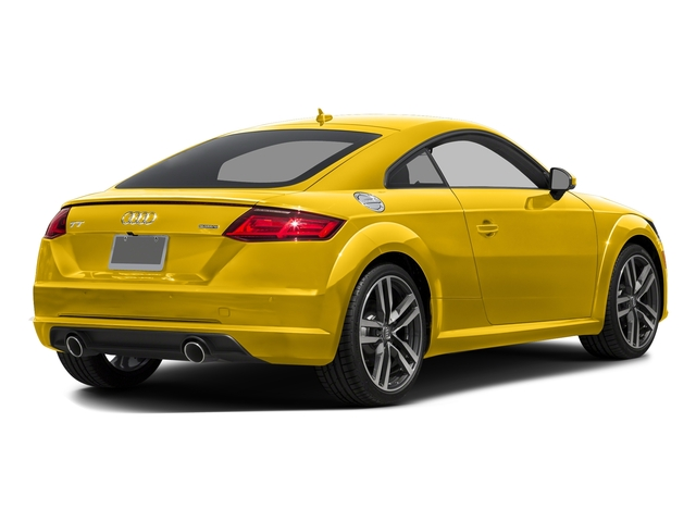 Vegas Yellow 2016 Audi TT Pictures TT Coupe 2D AWD photos rear view