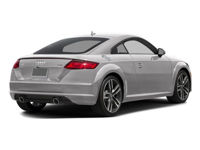 Florett Silver Metallic 2016 Audi TT Pictures TT Coupe 2D AWD photos rear view