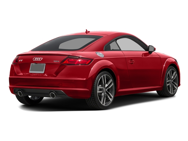 Tango Red Metallic 2016 Audi TT Pictures TT Coupe 2D AWD photos rear view