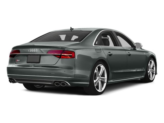 Monsoon Gray Metallic 2016 Audi S8 Pictures S8 Sedan 4D S8 AWD V8 Turbo photos rear view