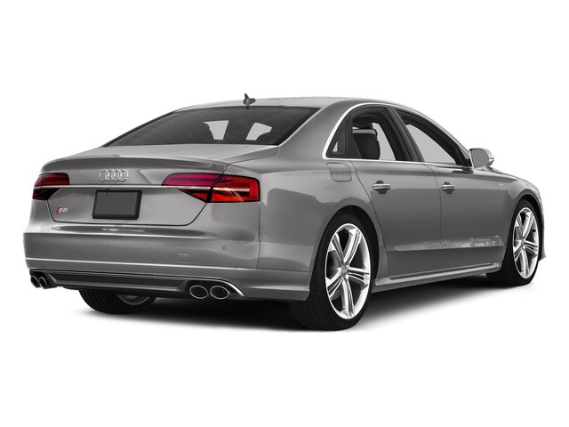 Cuvee Silver Metallic 2016 Audi S8 Pictures S8 Sedan 4D S8 AWD V8 Turbo photos rear view