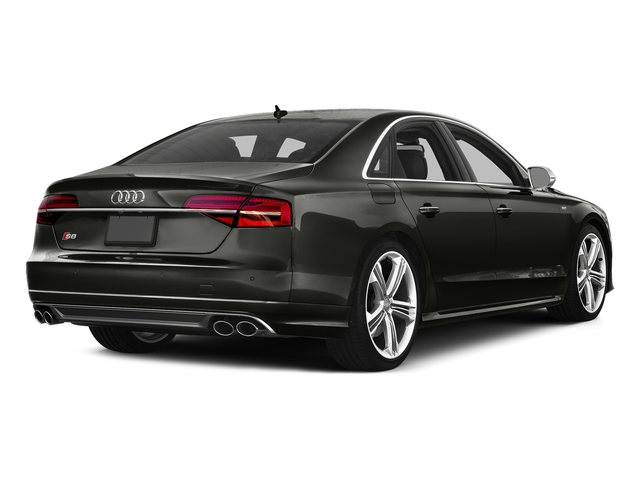 Havanna Black Metallic 2016 Audi S8 Pictures S8 Sedan 4D S8 AWD V8 Turbo photos rear view