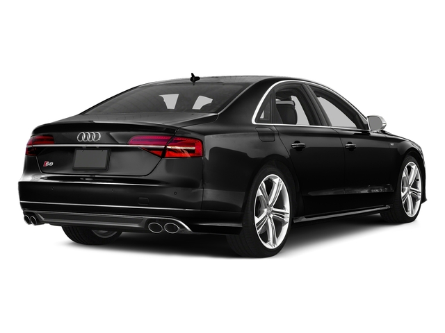 Brilliant Black 2016 Audi S8 Pictures S8 Sedan 4D S8 AWD V8 Turbo photos rear view