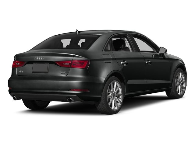 Mythos Black Metallic 2016 Audi A3 Pictures A3 Sed 4D 2.0T Premium Plus S-Line AWD photos rear view