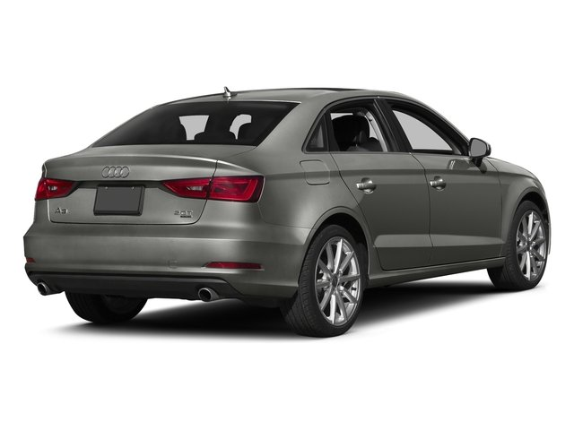 Lotus Gray Metallic 2016 Audi A3 Pictures A3 Sed 4D 2.0T Premium Plus S-Line AWD photos rear view