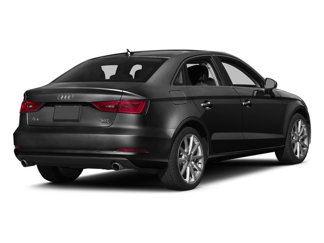 Brilliant Black 2016 Audi A3 Pictures A3 Sed 4D 2.0T Premium Plus S-Line AWD photos rear view