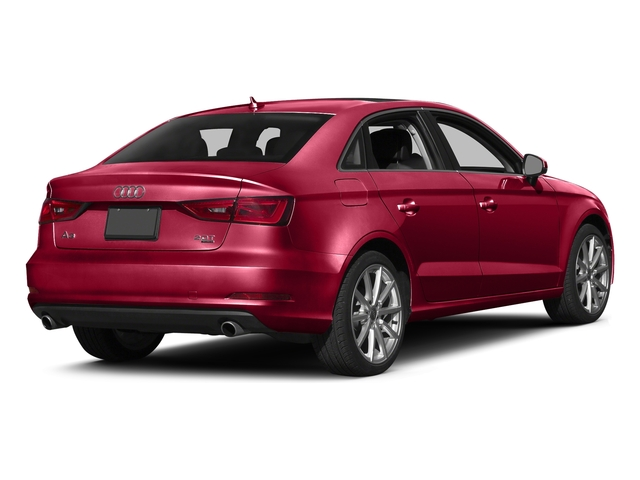 Brilliant Red 2016 Audi A3 Pictures A3 Sed 4D 2.0T Premium Plus S-Line AWD photos rear view