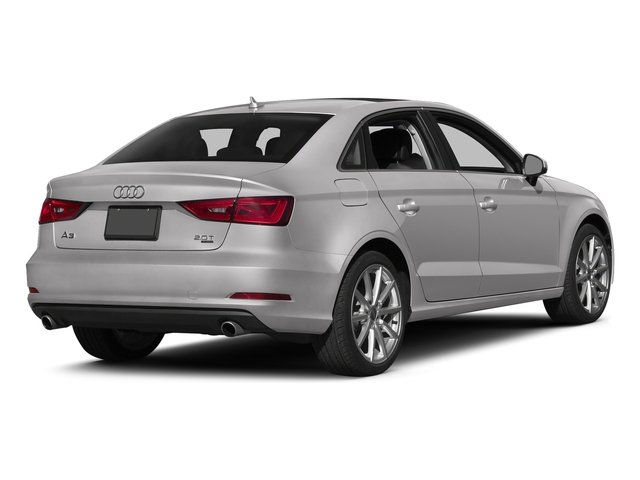 Florett Silver Metallic 2016 Audi A3 Pictures A3 Sedan 4D 2.0T Prestige AWD I4 Turbo photos rear view