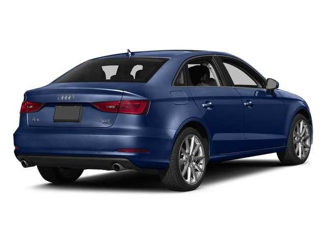 Scuba Blue Metallic 2016 Audi A3 Pictures A3 Sed 4D 2.0T Premium Plus S-Line AWD photos rear view