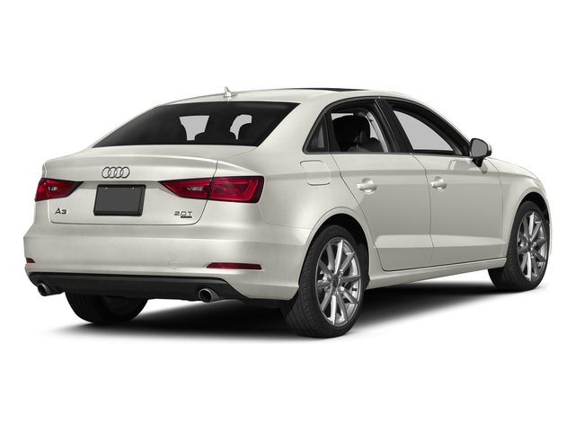 Ibis White 2016 Audi A3 Pictures A3 Sed 4D 2.0T Premium Plus S-Line AWD photos rear view