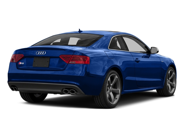 Sepang Blue Pearl Effect 2016 Audi S5 Pictures S5 Coupe 2D S5 Prestige AWD photos rear view