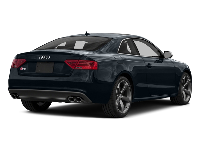 Moonlight Blue Metallic 2016 Audi S5 Pictures S5 Coupe 2D S5 Prestige AWD photos rear view