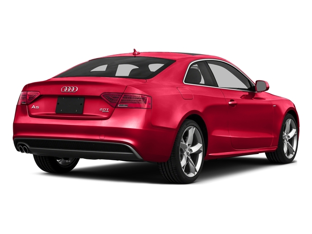 Misano Red Pearl Effect 2016 Audi A5 Pictures A5 Coupe 2D Premium Plus AWD photos rear view