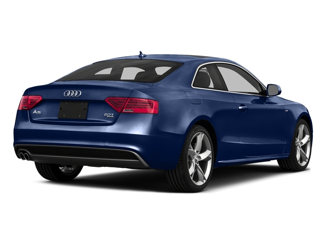 Scuba Blue Metallic 2016 Audi A5 Pictures A5 Coupe 2D Premium AWD photos rear view
