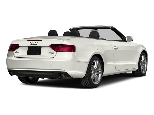 Ibis White/Red Roof 2016 Audi A5 Pictures A5 Convertible 2D Premium Plus AWD photos rear view