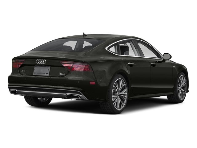 Havanna Black Metallic 2016 Audi A7 Pictures A7 Sedan 4D 3.0T Prestige AWD photos rear view