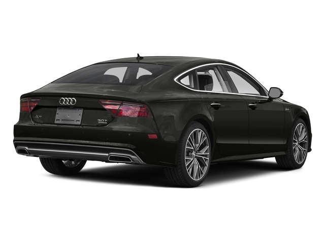Havanna Black Metallic 2016 Audi A7 Pictures A7 Sedan 4D 3.0T Premium Plus AWD photos rear view
