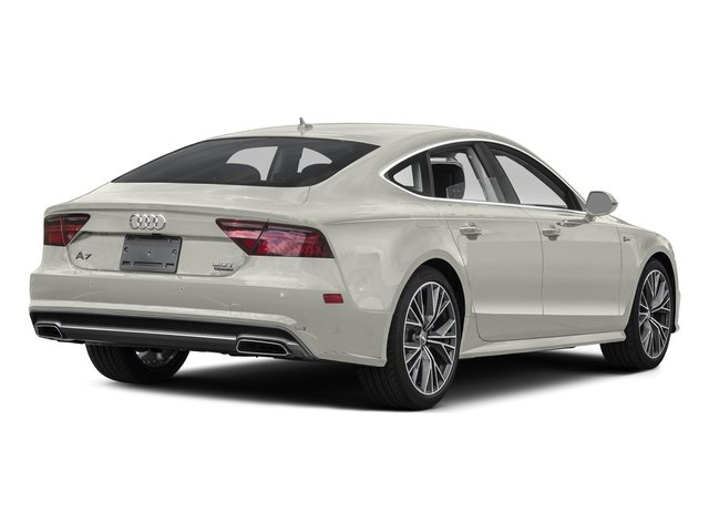 Ibis White 2016 Audi A7 Pictures A7 Sedan 4D 3.0T Premium Plus AWD photos rear view