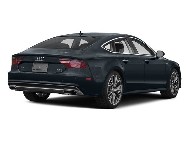 Moonlight Blue Metallic 2016 Audi A7 Pictures A7 Sedan 4D 3.0T Prestige AWD photos rear view