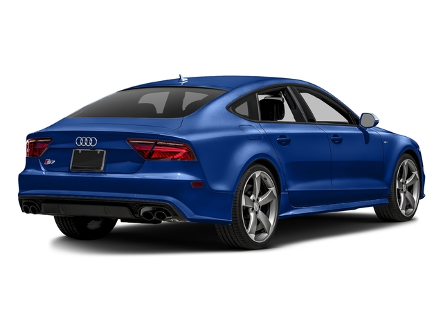 Sepang Blue Pearl Effect 2016 Audi S7 Pictures S7 Sedan 4D S7 Prestige AWD photos rear view