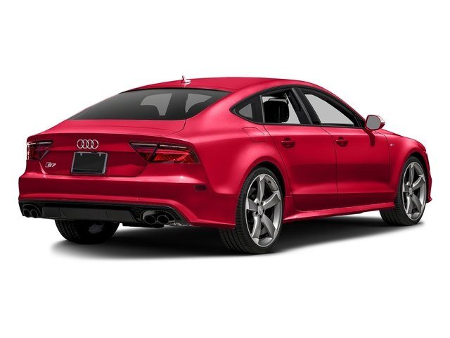 Misano Red Pearl Effect 2016 Audi S7 Pictures S7 Sedan 4D S7 Prestige AWD photos rear view