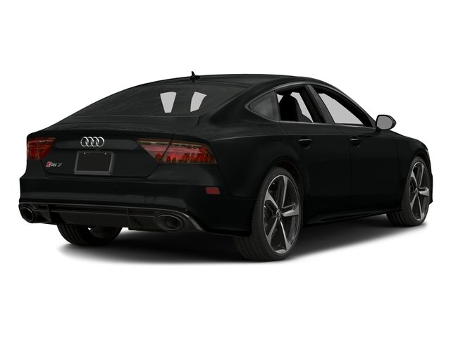 Mythos Black Metallic 2016 Audi RS 7 Pictures RS 7 Sedan 4D Prestige AWD photos rear view