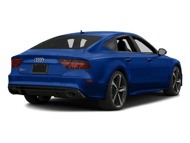 Sepang Blue Pearl Effect 2016 Audi RS 7 Pictures RS 7 Sedan 4D Prestige AWD photos rear view