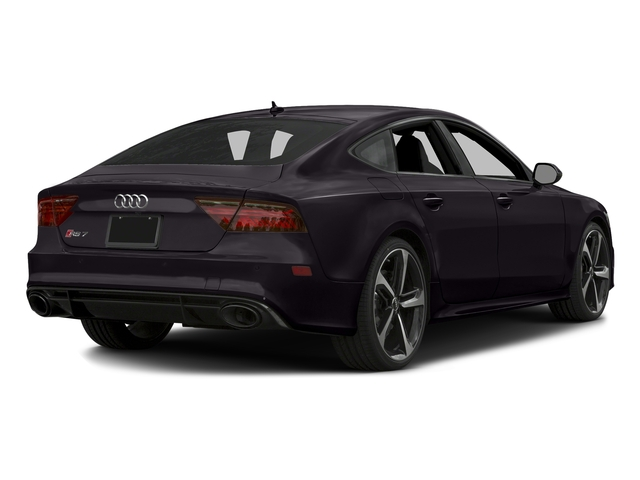 Panther Black Crystal Effect 2016 Audi RS 7 Pictures RS 7 Sedan 4D Prestige AWD photos rear view