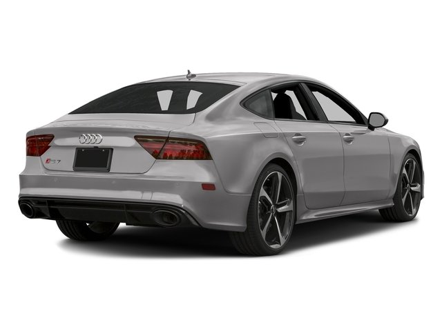 Florett Silver Metallic 2016 Audi RS 7 Pictures RS 7 Sedan 4D Prestige AWD photos rear view