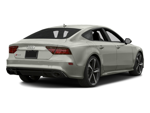 Prism Silver Crystal Effect 2016 Audi RS 7 Pictures RS 7 Sedan 4D Prestige AWD photos rear view