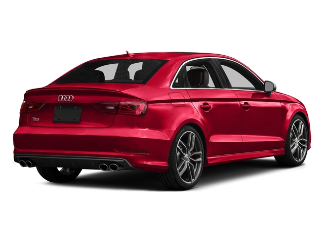 Misano Red Pearl Effect 2016 Audi S3 Pictures S3 Sedan 4D Premium Plus AWD I4 Turbo photos rear view