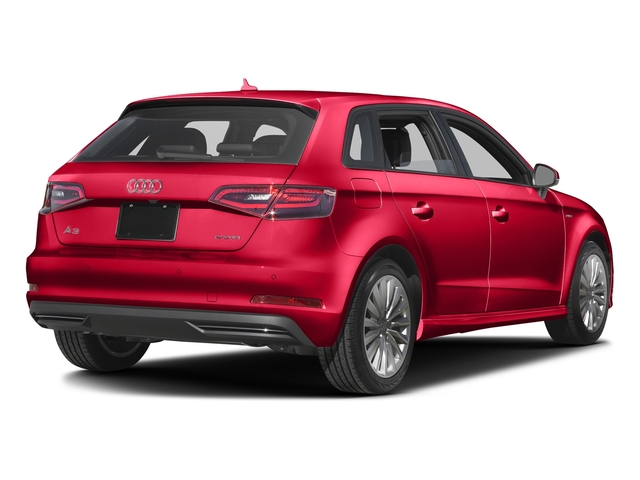 Misano Red Pearl Effect 2016 Audi A3 e-tron Pictures A3 e-tron Hatchback 5D E-tron Prestige photos rear view