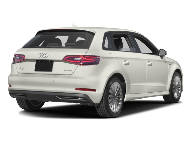 Ibis White 2016 Audi A3 e-tron Pictures A3 e-tron Hatchback 5D E-tron Premium photos rear view