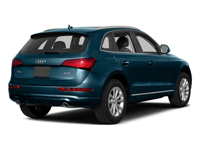Utopia Blue Metallic 2016 Audi Q5 Pictures Q5 Utility 4D 3.0T Premium Plus AWD photos rear view